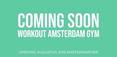 Workout Amsterdam Amstelkwartier